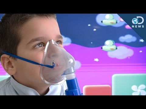 Video Game Makes Medical Treatment Fun For Kids