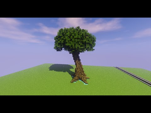 World edit tutorial - Brush Sphere Tree!