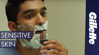 How to Shave with Sensitive Skin | Gillette