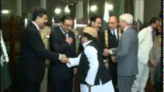 Oath of Justice Agha Rafiq Ahmed Khan as Chief Justice Federal Shariat Court of Pakistan