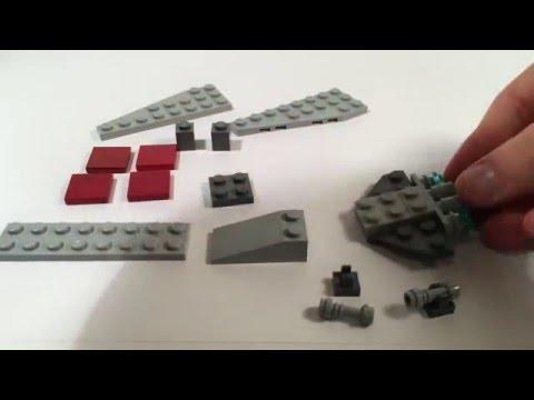 How to build a mini Lego Venator and Assault ship!