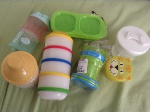 Mom Review Mondays- Snack/Formula Containers