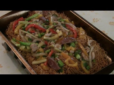 Oven Baked Chicken Chow Mein With Vegetables  (No Stir Fry Chow Mein Noodles)