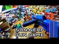 NERF GUN GAME   NON NERF EDITION! (First Person Shooter in 4K!)