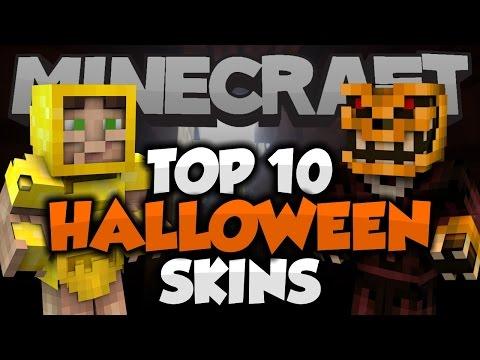 Top 10 Minecraft HALLOWEEN SKINS! - Best Minecraft Skins