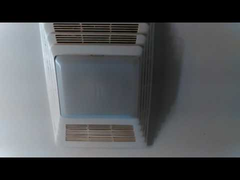 Don Bishop Bathroom Broan 655 Heater and Exaust Fan with Light Combination Repairs New Installation