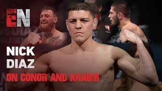 Download What Does Nick Diaz Think Of Conor & Khabib? | EsNews Boxing Video
