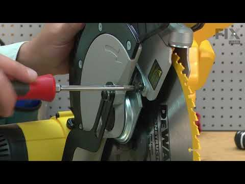 DeWALT Miter Saw Repair - How to Replace the Outer Clamp