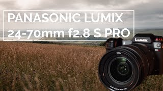 Panasonic Lumix 24-70mm f2.8 S PRO Lens   Go To Lens for S1 & S1R