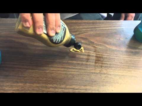 DIY How To Remove Permanent Marker Using Household Items - Windex Dijon Cologne Gum