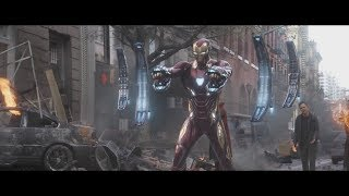 All Iron Man Suit up/down Scenes (up to Infinity War)