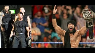 The Shield Entrance RETURNS THROUGH THE CROWD Jinder Mahal FACE Turn! Finn Balor plans,