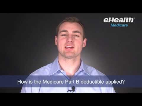 How is the Medicare Part B Deductible Applied?