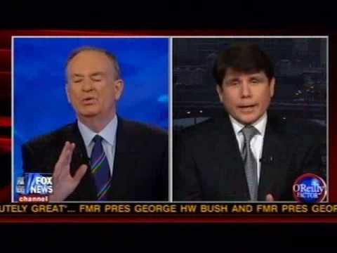 Bill O'Reilly Interviews Rod Blagojevich on Former Illinois Governor's Indictment