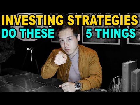 The 5 Investing Strategies to make the MOST Money