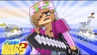 FIGHTING THE ENDERDRAGON! Minecraft BedWars | Little Kelly