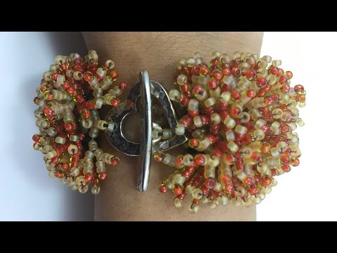 Coral Flower Bracelet