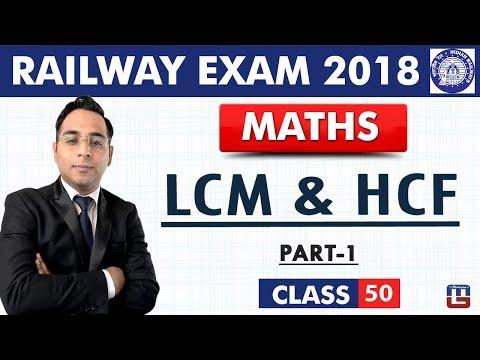 LCM & HCF   Part-1   Maths   Class - 50   RRB   Railway ALP / Group D   Live At 10 PM