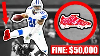 7 BANNED Cleats In The NFL