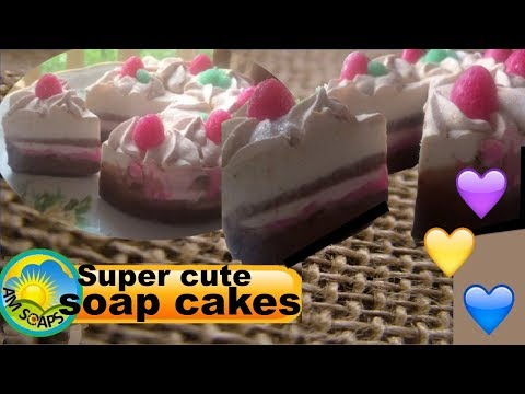 Super Cute Little Soap Cakes