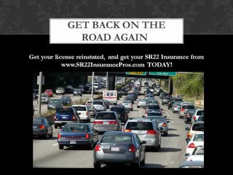 Cheap SR22 Insurance To Reinstate Suspended Drivers License