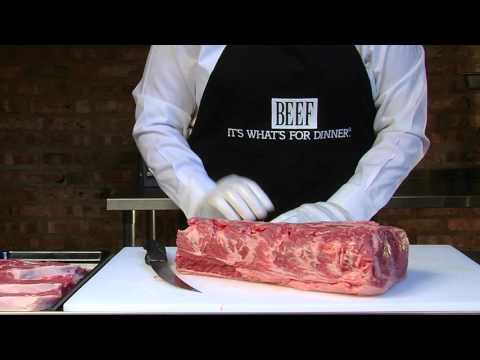 Cutting the Top Loin Roast and Filet