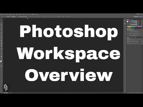 Photoshop Web Design Tutorial Series - Workspace Overview