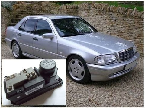 Mercedes benz c180 (w202) faulty vacuum pump, how to open the boot.