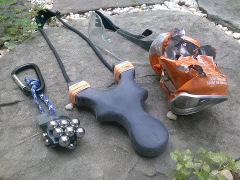 How To Make A Slingshot Out Of HDPE
