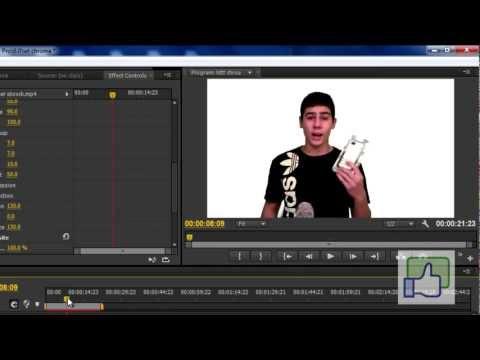 Green screen Easy Tutorial - Chroma key in Adobe Premiere - Cs6 Cs5