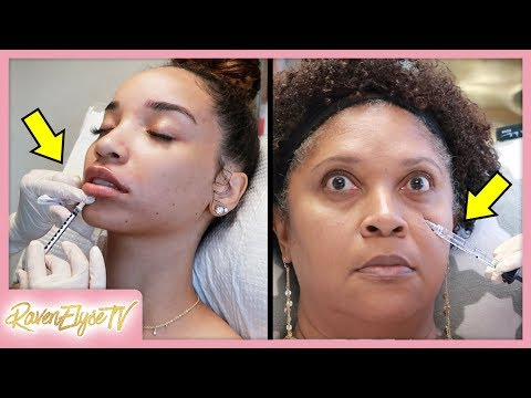 Mom & Daughter LIP INJECTIONS + Under Eye Filler!