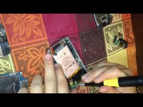 How to replace microphone, speaker, antenna, and dock port on an iPhone 3G or 3GS