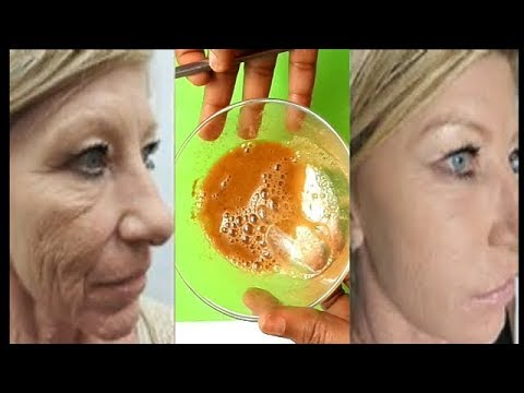 QUICK AND EASY WAY TO REMOVE FACE  WRINKLES IN 3 DAYS