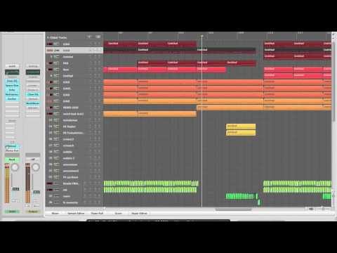 Hardstyle project with logic pro 9 (Randal - Before it's too late)