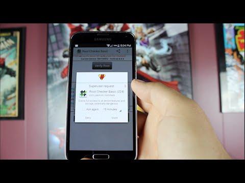 Verizon Galaxy S5 NK2 How To Root Latest 4.4.4 OTA Update