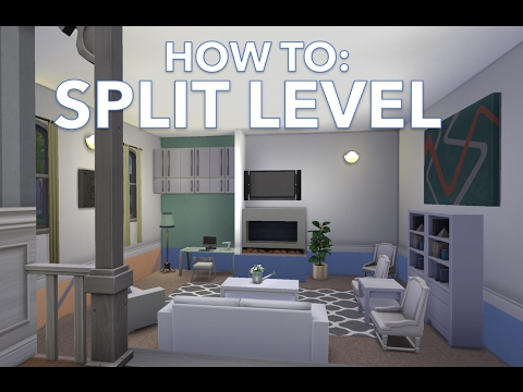 HOW TO: Split level homes in The Sims 4 | CSIMS4