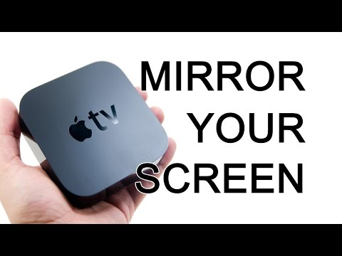 Apple TV - How To Mirror Your iPad Or iPhone Screen Onto A TV - The Blind Life