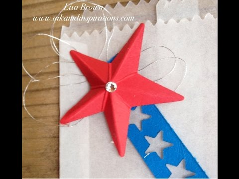 First Cut Video  3D Star for Fourth of July