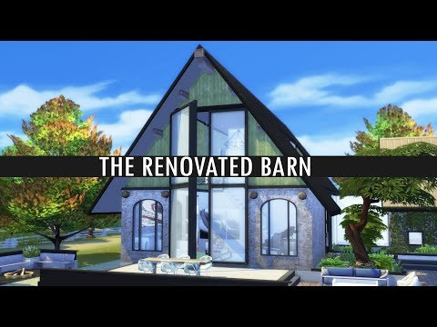 The Sims 4 Speed Build - THE RENOVATED BARN
