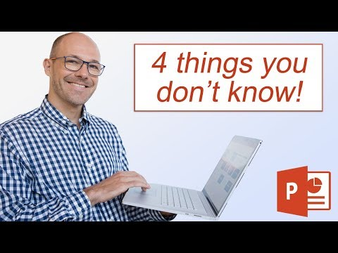 4 PowerPoint Tricks You Don't Know