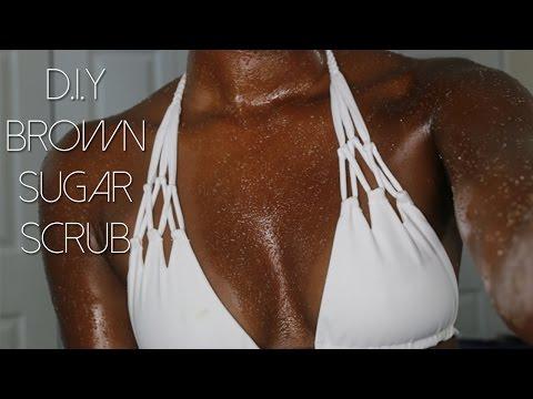 Get That Summer GLOW - D.I.Y Brown Sugar Body Scrub @zoeallamby