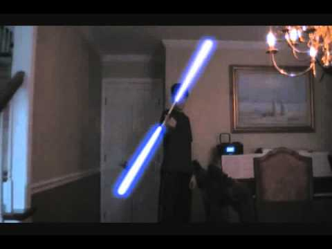 Double Bladed Lightsaber!