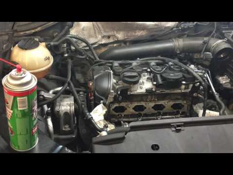 VW A5: Tiguan 2.0LT Intake valve cleaning (removing all carbon)