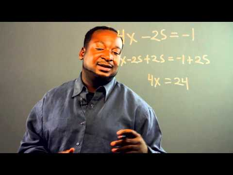 How to Learn Algebra When You Never Studied Any Algebra in Your... : Lessons in Applied Mathematics