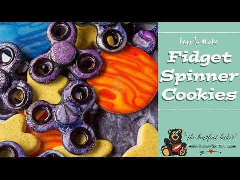 How to Make Fidget Spinner Cookies | The Bearfoot Baker