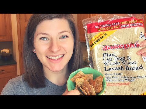 Lavash Bread Chips || THM Cook With Me