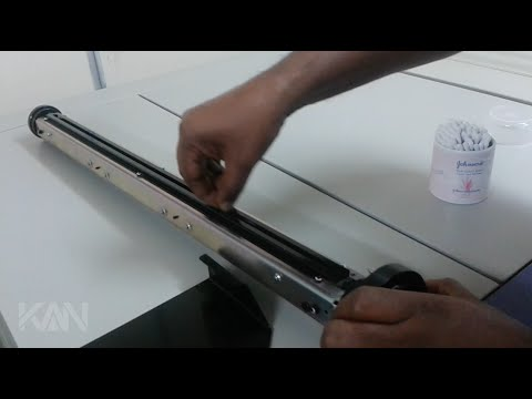 How to Clean Lens / Mirror in KATANA SCREEN LD M1050 CTF Image Setter (Film Developing Machine)