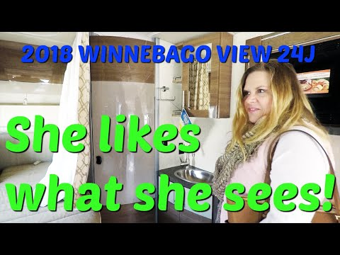2018 Winnebago View 24J from the Camping World RV show in Charlotte, NC