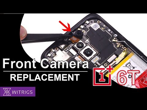 OnePlus 6T Front Camera & Earpiece Replacement