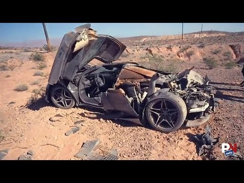 Cops Find A Crashed McLaren With No Driver In The Desert